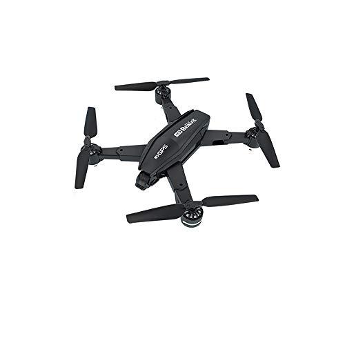 HVBYHF PTZ-Drohne mit doppelter GPS-Fernbedienung, 4K-Kamera und einem Knopf zum Starten/Fallen ohne Batterie für die Fernbedienung für Reisevideos 363 Gps
