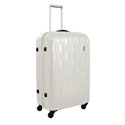 lojel-arrowhead-polycarbonate-medium-upright-spinner-luggage-off-white-one-size