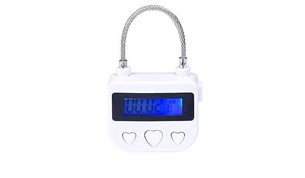 Mehrzweck Bondage Time Lock Knöchel Handschellen Mundknebel elektronisch Timer