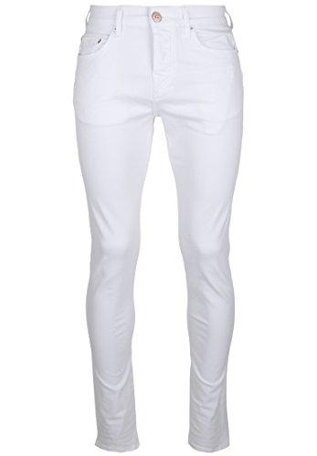 True Religion Herren Slim Jeans Rocco Traditional Optic White Optic White