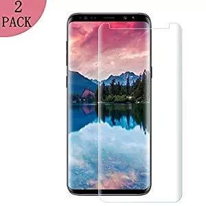 [2 Stück] Samsung Galaxy S9 Plus , Eroan Coverage HD Ultra Klar Abdeckung Gehärtetem Glas, Anti-Kratzer, 9H Härte,Klar Glatt, Anti-Fingerabdruck, Blasenfreie - Kompatibel Samsung Galaxy S9 Plus