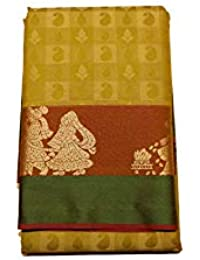 Kanchipuram Vallalar Silks Yellow saree