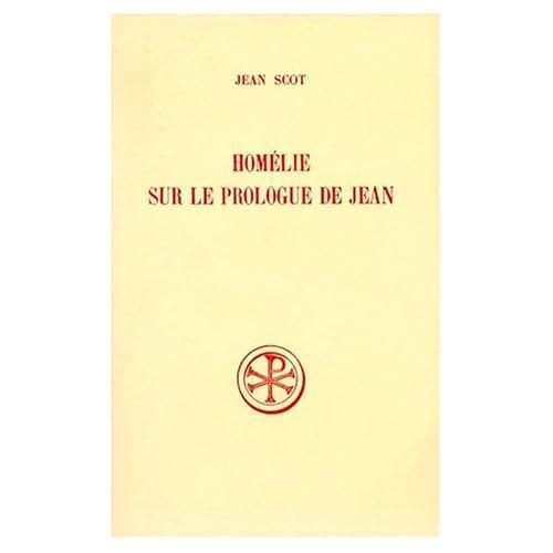 Homélie sur le prologue de Saint Jean