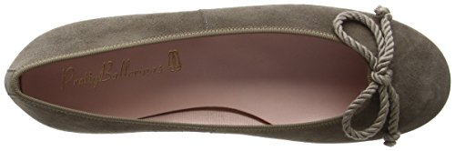 Pretty Ballerinas 35663, Ballerines Femme Grey (Angelis Yanik)