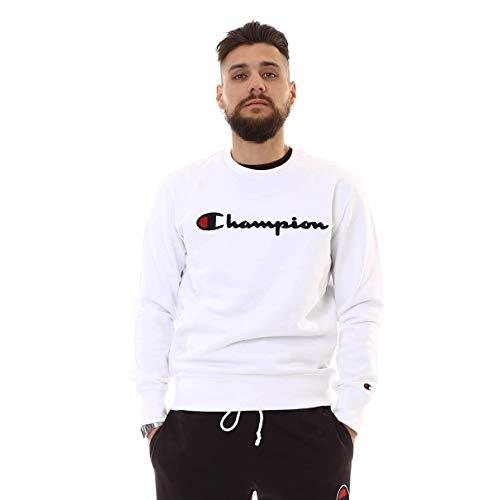 Champion Crewneck Sweatshirt, Sweatshirt - XS - Big Crewneck Sweatshirt