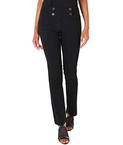 7549-blk-16-bootcut-trousers-pants-formal-business-work-office-skinny-slim-7549