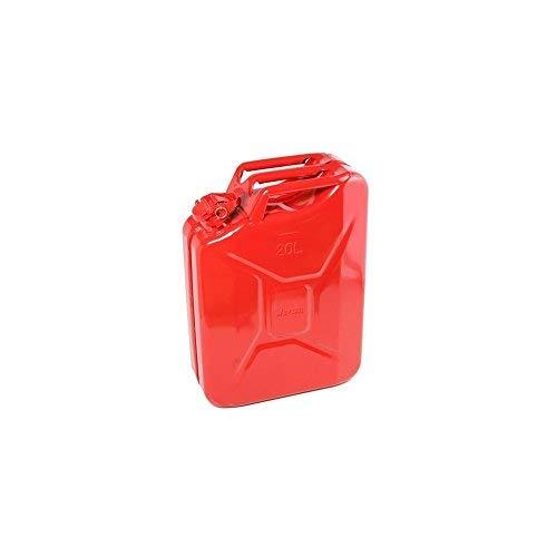 DYNATEC Qualité Jerrican en métal Rouge 20Litre