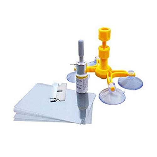 DIY Windschutzscheibe Reparatur Kits Autofenster Reparatur Werkzeuge Glas Kratzer Wiederherstellen Windschutzscheibe Risse Polieren Repair Tool Set
