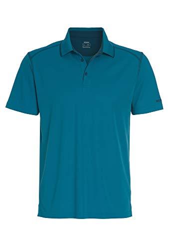 Outdoor Polo Shirt 1/2 Arm Uni Mittelblau,M
