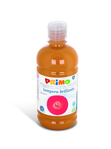 Primo Schulmalfarbe / Tempera-Farbe, geeignet für Kinder, mit Dosierverschluss, 500 ml Flasche,...