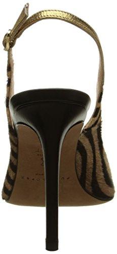 Pura Lopez - Ah112, Sandali Donna Multicolore (Multicolore (Zebra Brise/Baby Nap Noir/Napa Oro))