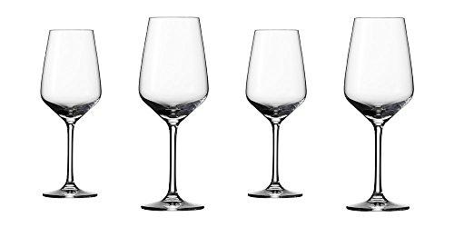 vivo Villeroy & Boch Group 19-5300-8120 Voice Basic Weissweinglas Set 4 teilig Gläsersets, transparent, 16.2 x 16.2 x 21.3 cm, 4 Einheiten