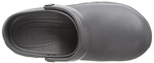 Toffeln - Eziprotekta, Calzature Di Sicurezza, unisex, Bianco (Bianco (White)), 39 Grey (Graphite Grey)