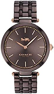 Coach WOMEN'S BROWN DIAL IONIC PLATED BROWN STEEL WATCH - 1450