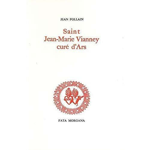Saint J.M. Vianney, curé d'Ars