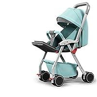 Baby-Kinderwagen Kann Sitzen und Zurücklehnen Leichten Klapp Dämpfer Baby-Kinderwagen