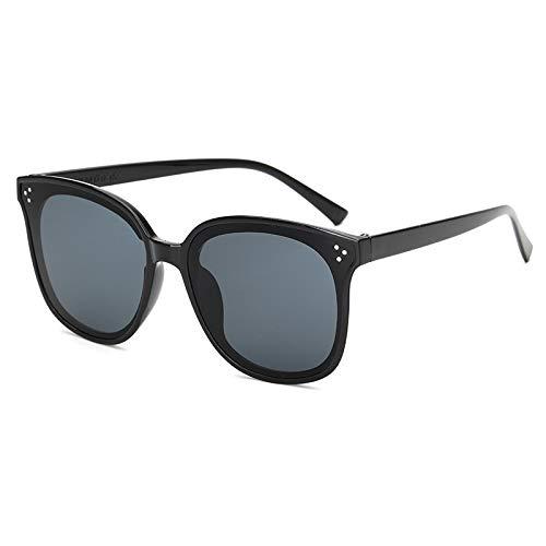 CBDGD Neue Explosionsmodelle Sonnenbrillen Retro-UV-Sonnenbrillen Europäische und amerikanische Sonnenbrillen für Männer Sonnenbrille (größe : Powder Frame/Powder)