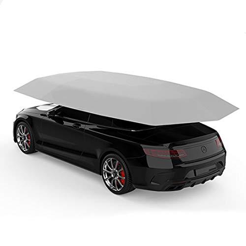 Vier-Saison-Automatic Car Zeltdeckel Carport gefaltet, Auto Regenbrella Zelt mit Sunshade mit Anti-UV, Wasser-Proof, Proof Wind, Schnee, Sturm Hail 4.5 * 2.3M