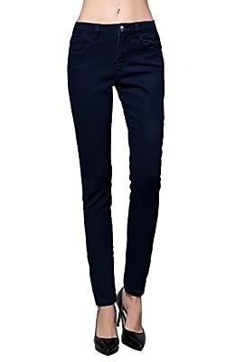 Butt Lift Skinny Jeans, ZLZ Women's Casual Stretch Jeans Leggings