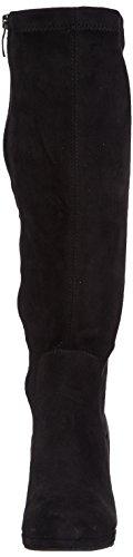 Tamaris 25522, Bottes à tige haute et doublure intérieure femme Noir - Noir