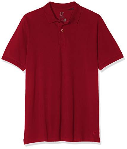 JP 1880, Große Größen Herren Poloshirt Piquee, Rot (Rot 57), XL