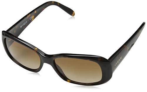 Vogue Eyewear Damen VO2606S Boogie Woogie Special Collection W65613 Sonnenbrille, Schwarz (Dark Havana), One size (Herstellergröße: 52)