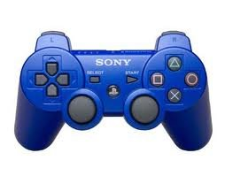 PlayStation 3- PS3 - BLUE OFFICIAL Rapid fire Controller - Elite Mod- 10 Mod