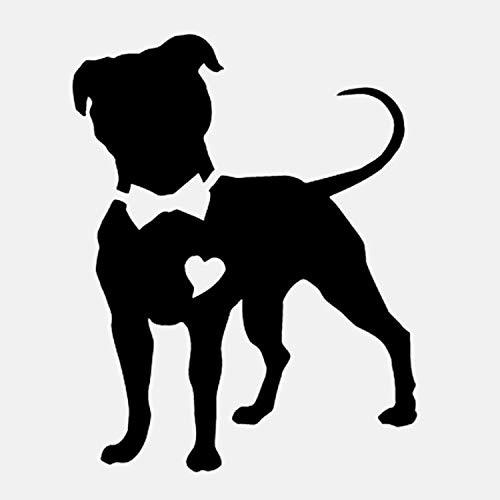 52 * 66CM Pitbull luchador perro Tier für die Dekoration des Hauses (Perro Pitbull)