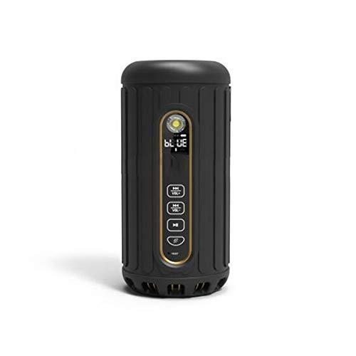 qiyan , Tragbarer Outdoor-Radsport-Bluetooth-Lautsprecher 6600mAh Power Bank Leistungsstarke wasserdichte drahtlose Subwoofer-Lautsprecher 30 Stunden Spielzeit in tragbaren Lautsprechern
