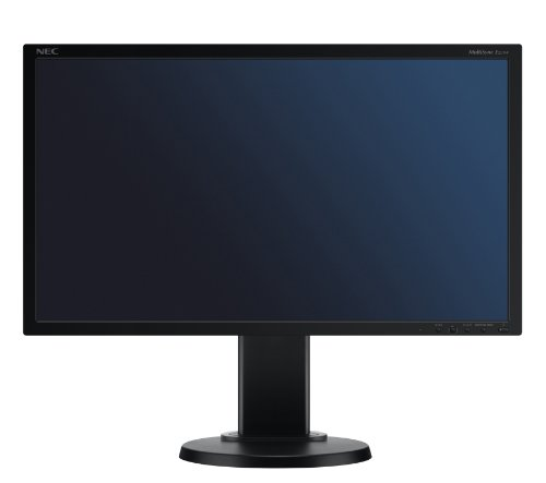 NEC Displays  20 inch LCD TFT monitor (1000:1, 250 cd/m, 1600 x 900, DVI-D/DP (Black))
