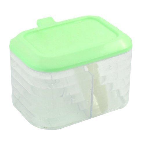 787-cm-31-butterball-per-condimento-2-scomparti-contenitore-trasparente-con-cucchiaio-colore-verde-c