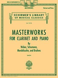 MASTERWORKS FOR CLARINET AND PIANO (BOOK/ONLINE AUDIO)  PARTITURAS  DOWNLOADS PARA CLARINETE  ACOMPAÑAMIENTO DE PIANO