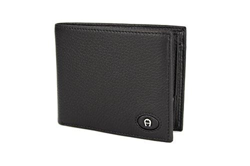 Querformat Herren Geldbörse von AIGNER (0007 Schwarz)