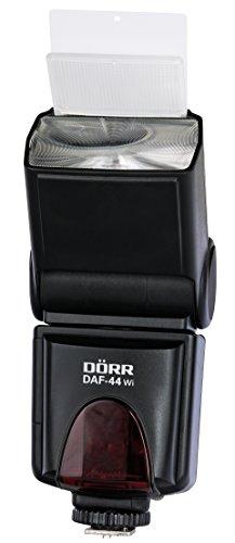 Dörr 371062 DAF-44 WI Blitzgerät für Nikon Kamera (4,3 cm (1,7 Zoll) LCD-Display) schwarz