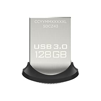 SanDisk Ultra Fit 128 GB USB-Flash-Laufwerk USB 3.0 bis zu 130 MB/Sek