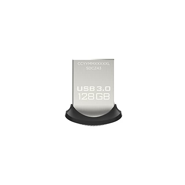Clé USB 3.0 Sandisk Ultra Fit 128Go Allant jusqu'à 130Mo/s