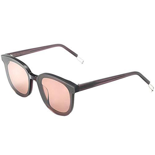 Yiph-Sunglass Sonnenbrillen Mode Graceful Frauen Sonnenbrille Katzenaugen acetat Fiber Rahmen Harz linse uv-Schutz Fahren Party Urlaub Sonnenbrille. (Farbe : Rosa)