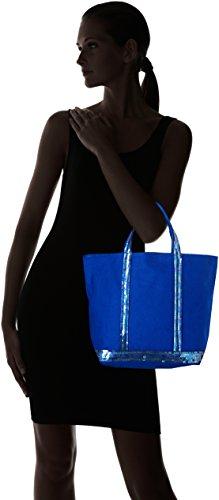 Vanessa Bruno 0PVE01, Borsa a Mano Donna Blu (Bleu Electrique)