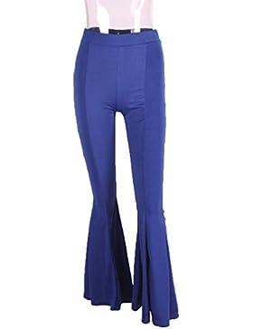 YiLianDaD Pantalones Baggy Elást