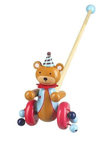 Orange Tree Toys Circus Bear Push Along
