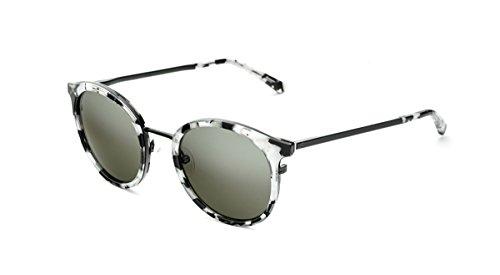 Occhiali da sole etnia blai - occhiali colorati: blanco y negro