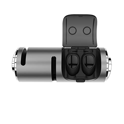 Bluetooth In-Ear-Stereo-Kopfhörer Mini True Wireless Sports Earbuds(Grau)