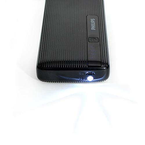 Philips DLP2710NB 10000mAH Lithium-Ion Power Bank (Black) Image 3