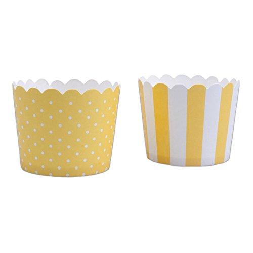 Staedtler Haus Mini Sun weiß Backen Cupcake, gelb, 12-teilig - Gelben Papier Die Hellen Platten