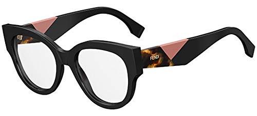 Fendi Damen FF 0271 807 50 Sonnenbrille, Schwarz (Black)