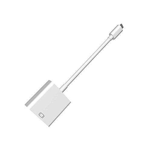 Gankmachine USB 3.1 Typ C-HDMI-Adapter-Kabel USB-C HDMI 1080P-Konverter für MacBook 12-Zoll-Chromebook Pixel 12 Zoll Kabel