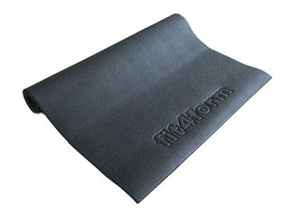 fit4form Bodenschutzmatte 220 x 110 cm für Fitnessgeräte, Crosstrainer, Laufband, Kraftstation Schutzmatte, Trainingsmatte, Unterlegmatte