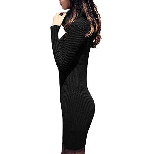 Donna Vestiti Invernali Corti Pullover Matita Abito Manica Lunga Con  Cappuccio Felpe Camicia Vestito Con Coulisse Puro Colore Tasca Hoodie  Tunica Abiti ... 67cb7ea3d9f