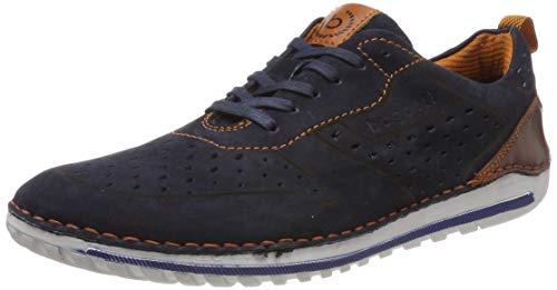 Bugatti Herren 321712021500 Sneaker, Blau (Dark Blue 4100), 41 EU