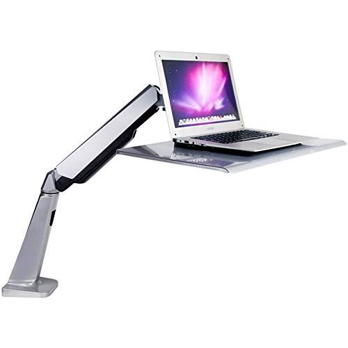 PEIQI HOME Sit-Stand Workstation, Sitz-Steh-Schreibtisch Aufsatz Höhenverstellbare, Flexible,...